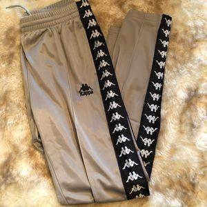 Gray Kappa Sweatpants